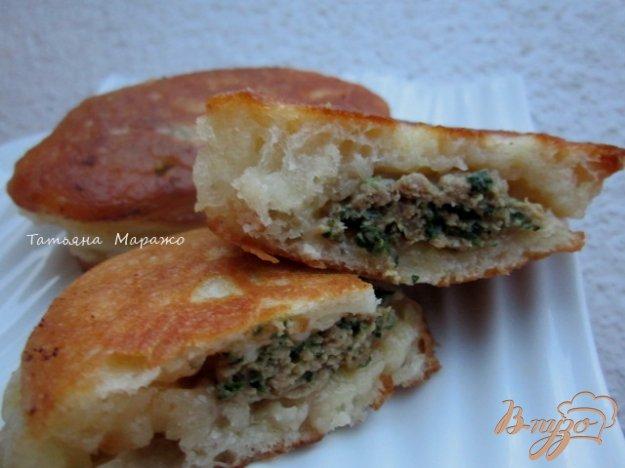 Рецепт Ленивые пирожки с мясом