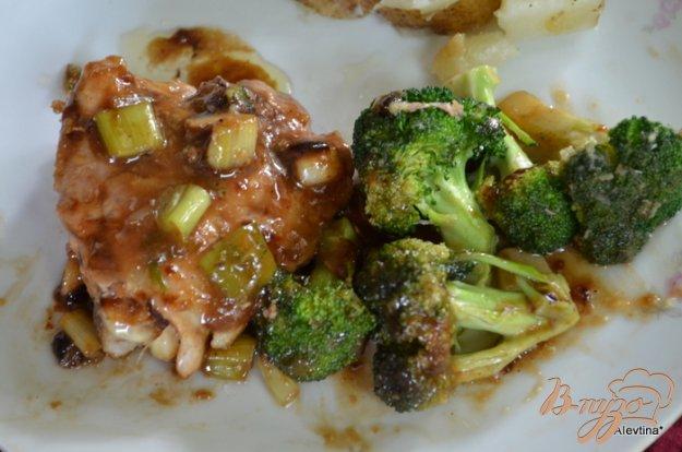 фото рецепта: Курица с брокколи стир-фрай