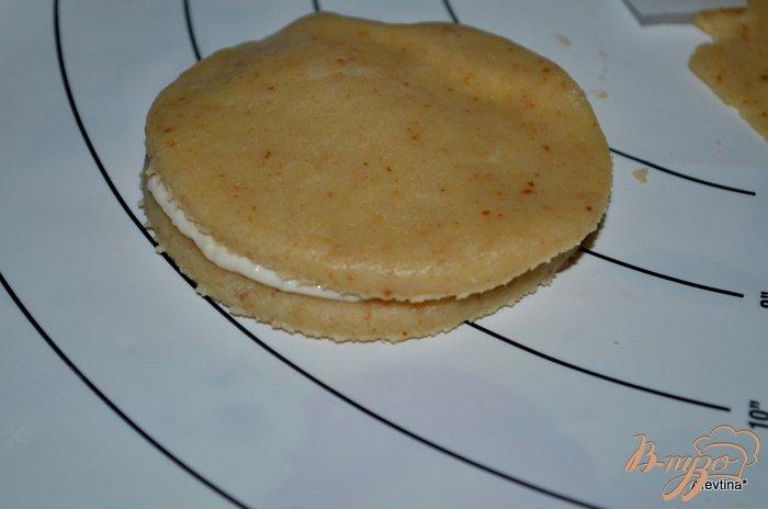 Фото приготовление рецепта: Апельсиновые сконы с начинкой шаг №5