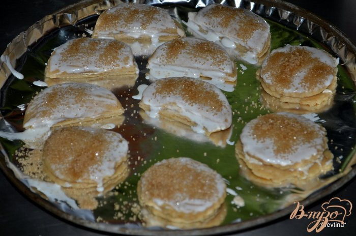 Фото приготовление рецепта: Апельсиновые сконы с начинкой шаг №6