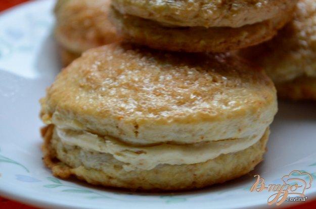 фото рецепта: Апельсиновые сконы с начинкой