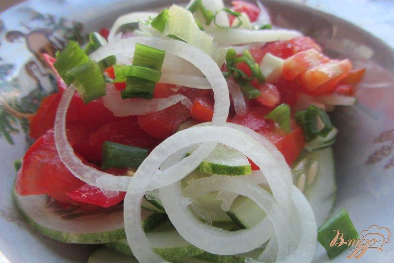 Фото приготовление рецепта: Салат летний шаг №6