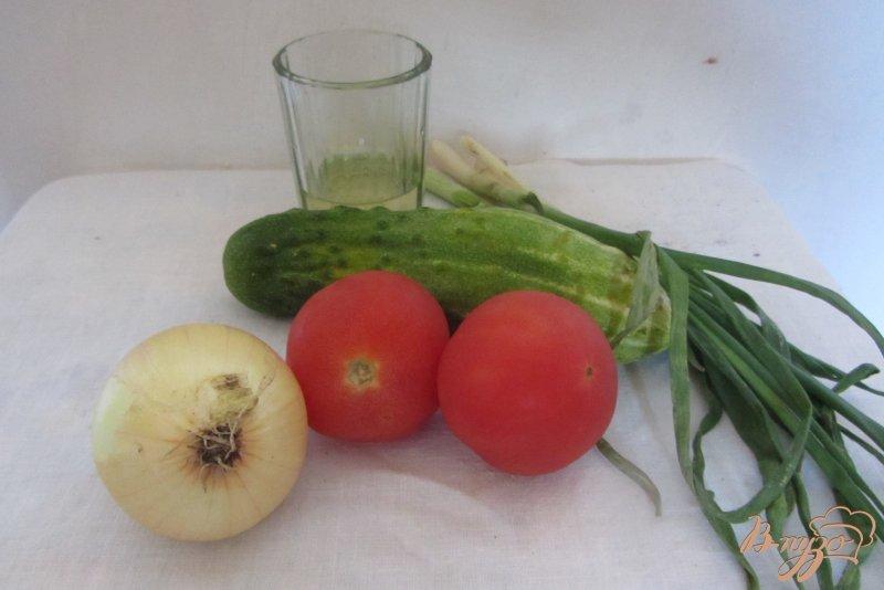 Фото приготовление рецепта: Салат летний шаг №1