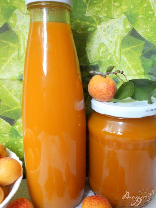 Фото приготовление рецепта: Сок абрикосовый на зиму шаг №5