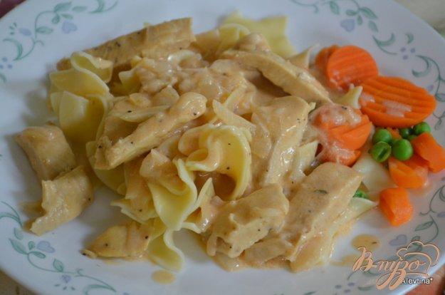 Рецепт Курица в чесночно-уксусном соусе