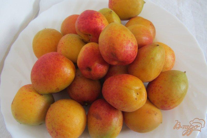 Фото приготовление рецепта: Замороженные абрикосы шаг №1