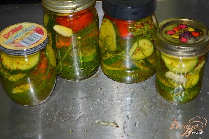 Фото приготовление рецепта: Домашние соленья по-быстрому шаг №3