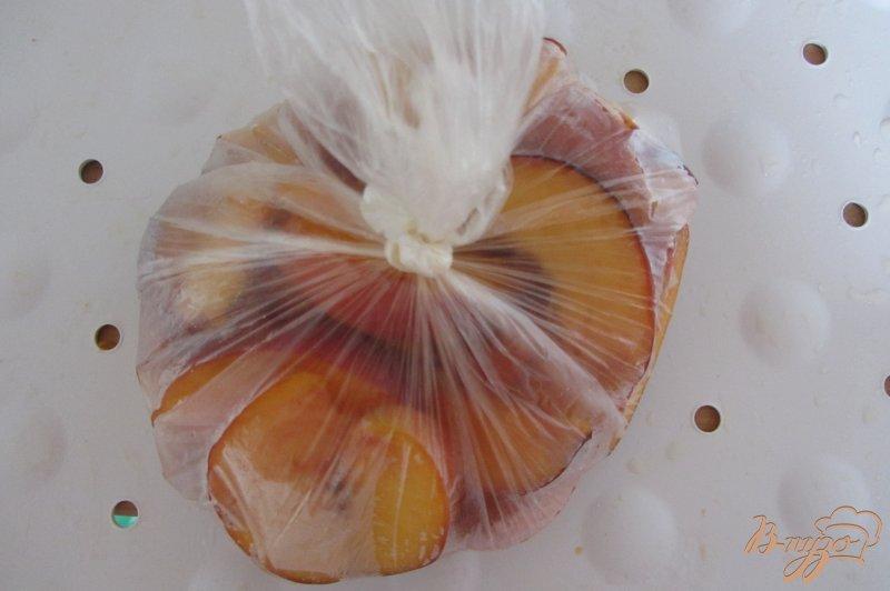 Фото приготовление рецепта: Замороженные персики шаг №5