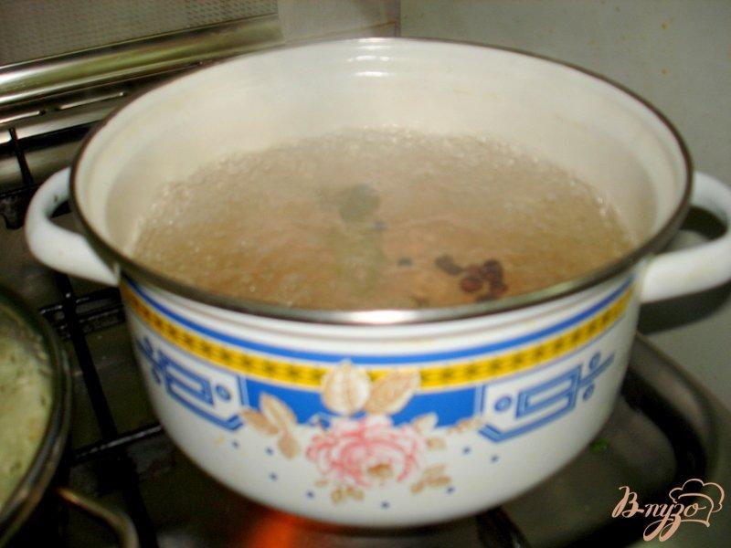 Фото приготовление рецепта: Перец жареный с чесноком шаг №1