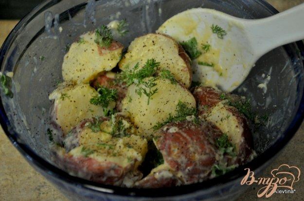 Рецепт Картофельный салат с горчицей