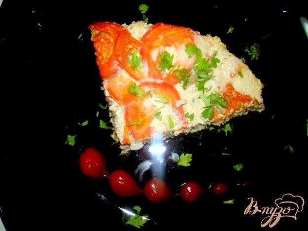 фото рецепта: Запеканка  рисовая с фаршем, рисом и кабачками
