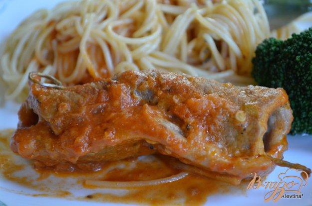 Рецепт Говядина с сырной начинкой