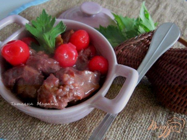 Рецепт Говядина с вишней