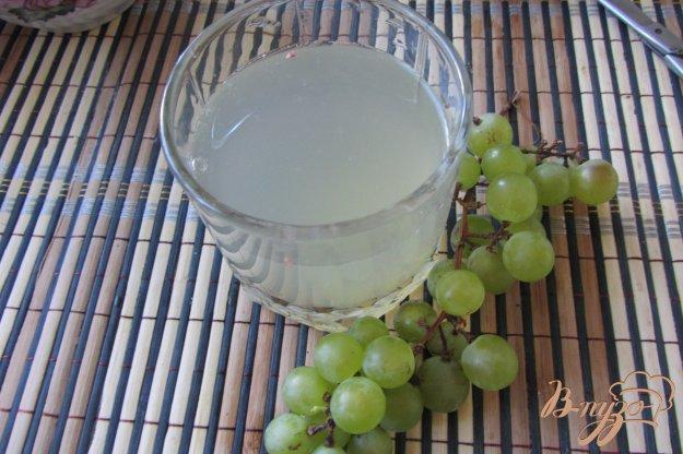Рецепт Виноградный газированый напиток