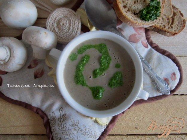 фото рецепта: Грибной суп с горчицей