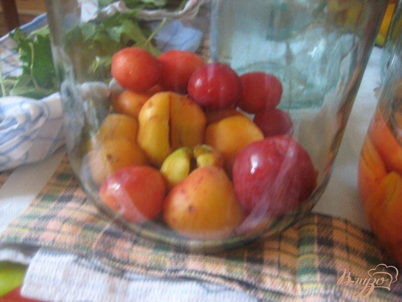 Фото приготовление рецепта: Абрикосовый компот шаг №1