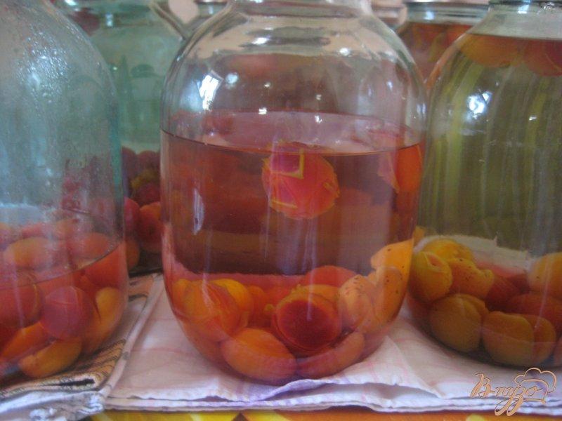 Фото приготовление рецепта: Абрикосовый компот шаг №2