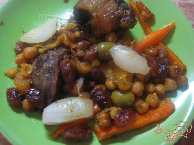 Рецепт Тажин с говядиной