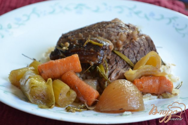 Рецепт Говяжьи ребра в медленной готовке