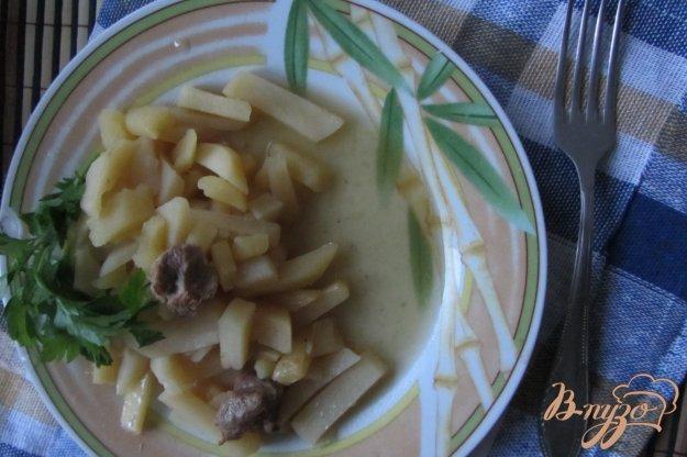 фото рецепта: Картофель тушеный с мясом