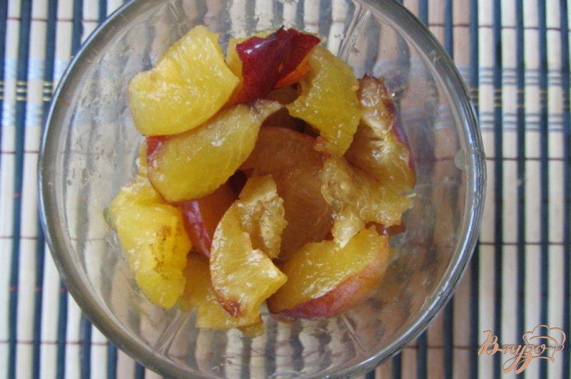 Фото приготовление рецепта: Фруктовый салат сластена шаг №4