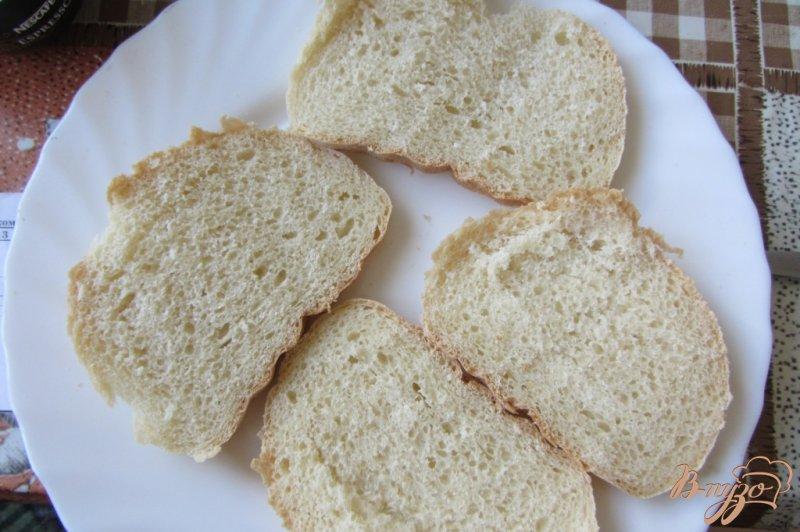 Фото приготовление рецепта: Cэндвич по-холостяцки шаг №1