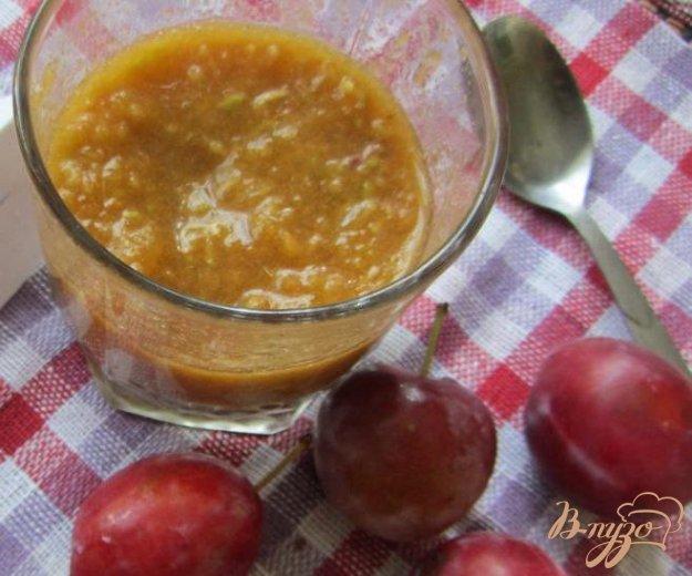 фото рецепта: Сливово-яблочный десерт