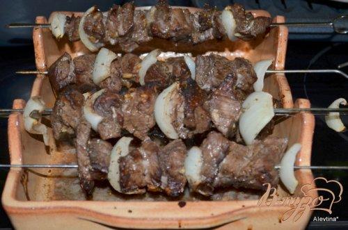 Кебаб с итальянским вкусом