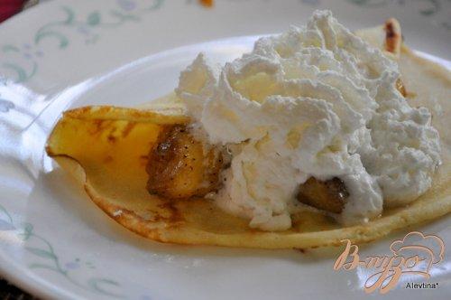 Блинчики с банановой начинкой