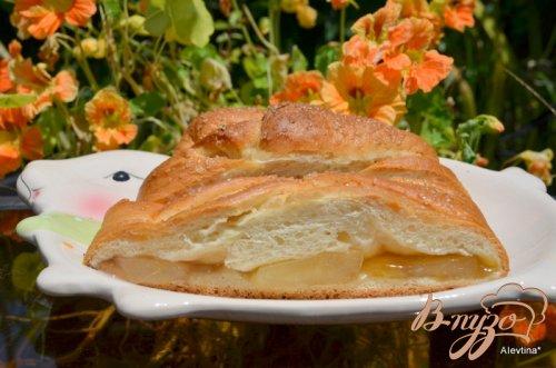 Яблочный  кекс