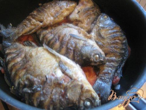 Рыба в помидорах