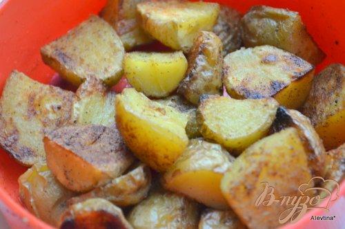 Картофель в юго-западном стиле