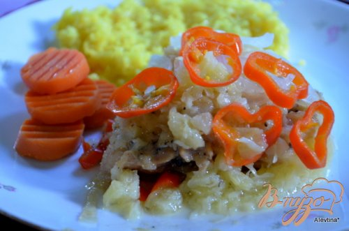 Курица в ананасовом соусе