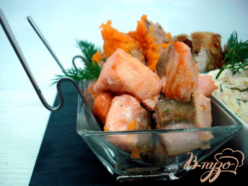 Рыбная фуршетная закуска