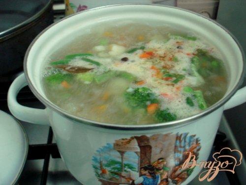 Грибной суп со сметаной