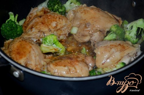 Курица с брокколи стир-фрай