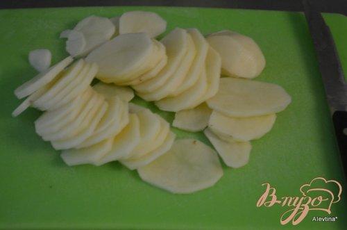 Картофельная галета с грибами