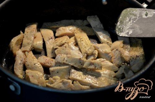 Курица в чесночно-уксусном соусе