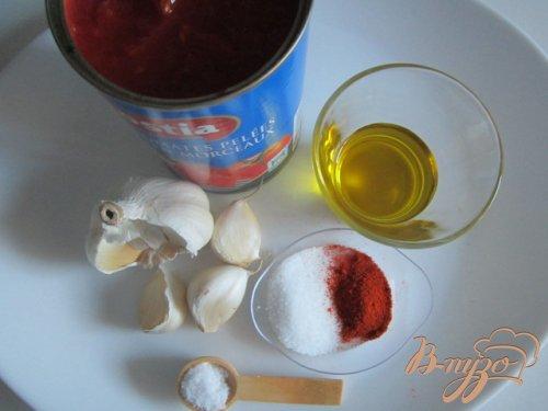 Томатно-чесночный соус к галушкам