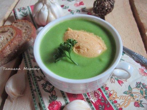 """Овощной суп с пастой """"Нут"""""""
