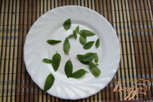 Мятно-инжирный чай