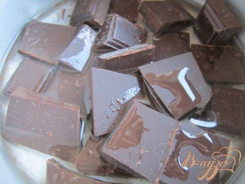 Бисквитный рулет с шоколадным муссом