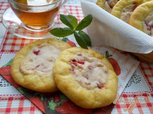 Сырники с творожным кремом в духовке