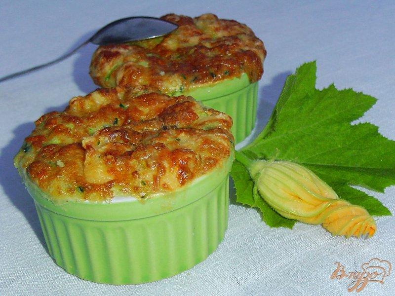 Фото приготовление рецепта: Запеканка кабачковая шаг №7