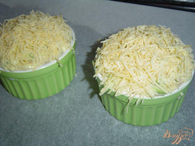 Фото приготовление рецепта: Запеканка кабачковая шаг №6