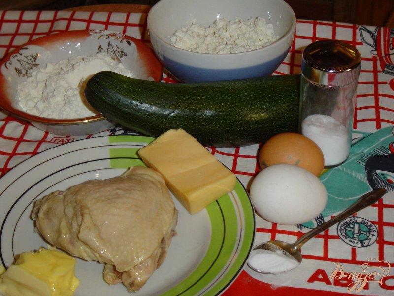 Фото приготовление рецепта: Запеканка кабачковая шаг №1