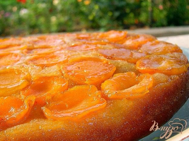Рецепт Абрикосовый пирог перевертыш