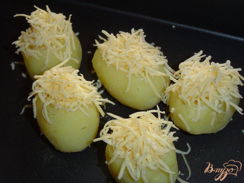 Фото приготовление рецепта: Запеченный картофель