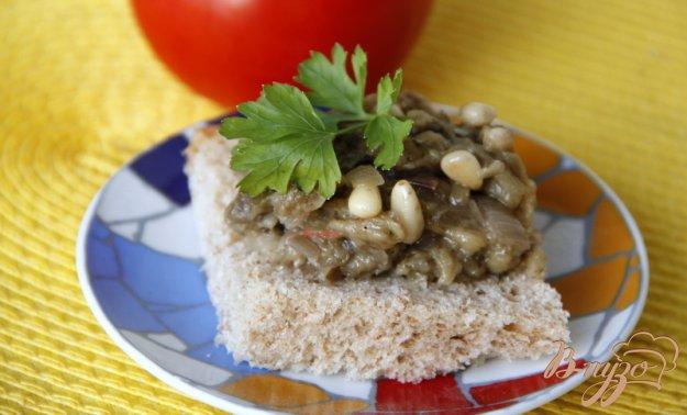 Рецепт Закуска из баклажанов с кедровыми орешками