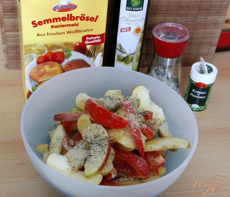 Фото приготовление рецепта: Картофель по-итальянски шаг №3